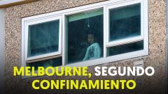 Melbourne inicia un nuevo confinamiento por un rebrote de coronavirus