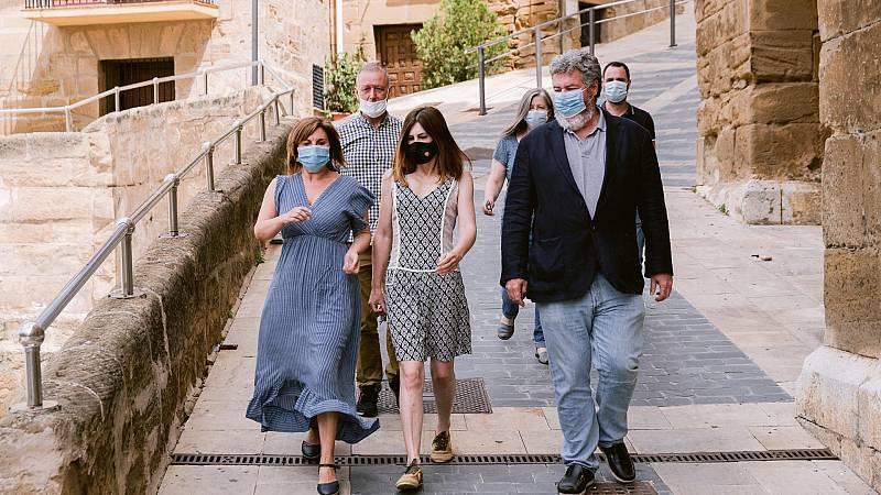 Penúltimo día de campaña electoral en el País Vasco con la mirada puesta en el brote de Covid en Ordizia