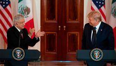 El asunto migratorio, gran ausente en la visita de López Obrador a EE.UU.