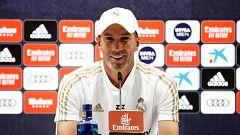"""Zidane: """"La prueba de  coronavirus a Vinicius salió mal y hay que repetirla"""""""