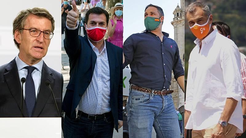 Elecciones gallegas: Los candidatos apuran la campaña pidiendo la máxima movilización