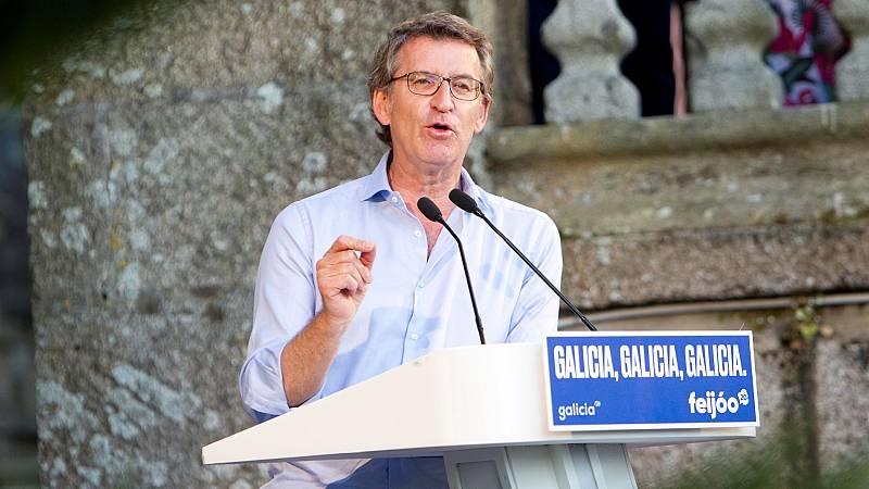 """Elecciones gallegas: Feijóo: """"Se ha politizado un brote que es una cuestión sanitaria"""""""
