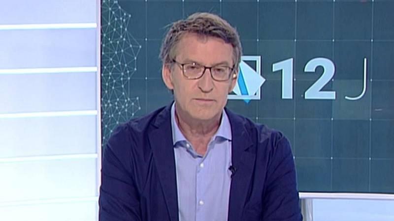 Los desayunos de TVE - Alberto Núñez Feijóo, candidato del PP a la presidencia de la Xunta - ver ahora