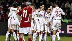 Resumen del Dinamarca-España de Clasificación para la Eurocopa 2008