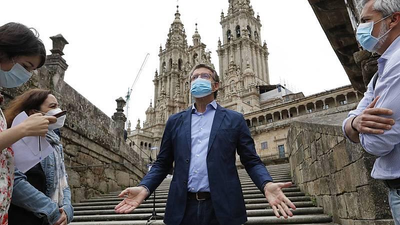 Elecciones gallegas: Los candidatos pisan el acelerador en el último día de una campaña agitada por el coronavirus