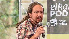 """Iglesias insta a """"no"""" ignorar el debate sobre """"la utilidad de la monarquía"""" en España"""