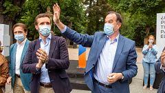 Elecciones vascas: El brote de Ordizia y la visita de los líderes nacionales marcan la última jornada de campaña