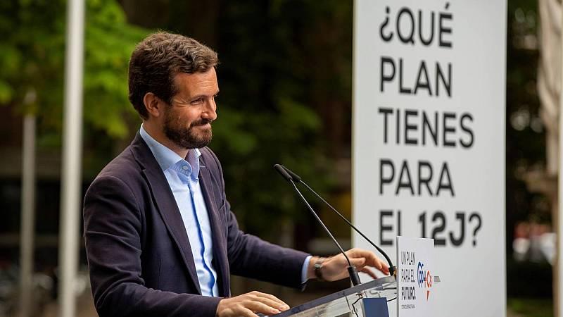 El PP atribuye la derrota de Calviño en el Eurogrupo a la debilidad del Gobierno