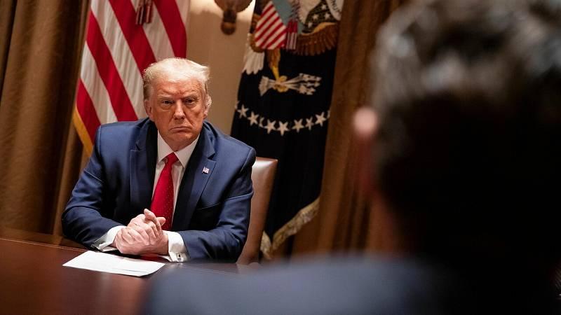 El Supremo de EE. UU. insiste en que Trump no puede negarse a dar sus documentos financieros