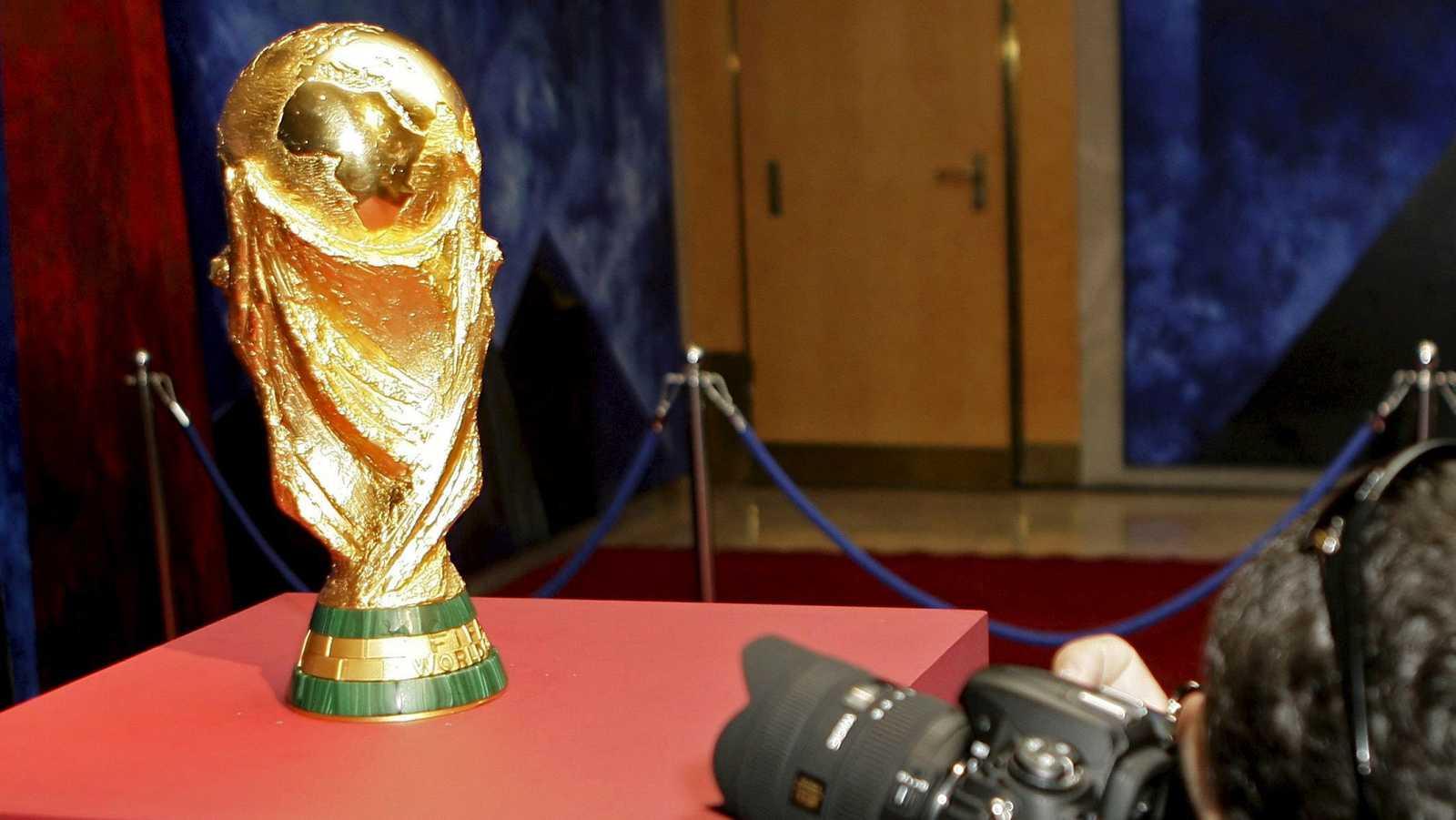 La Copa del Mundo estará este sábado expuesta en la Plaza de Colón