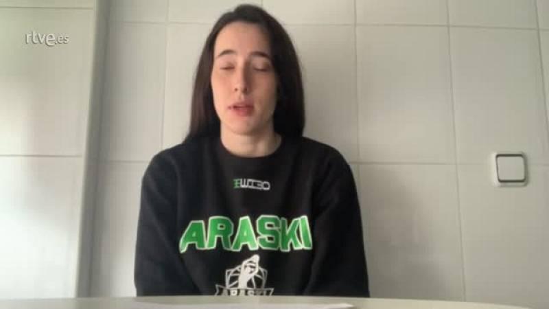 """Cristina Molinuevo renueva con el Araski: """"El objetivo es la permanencia"""""""