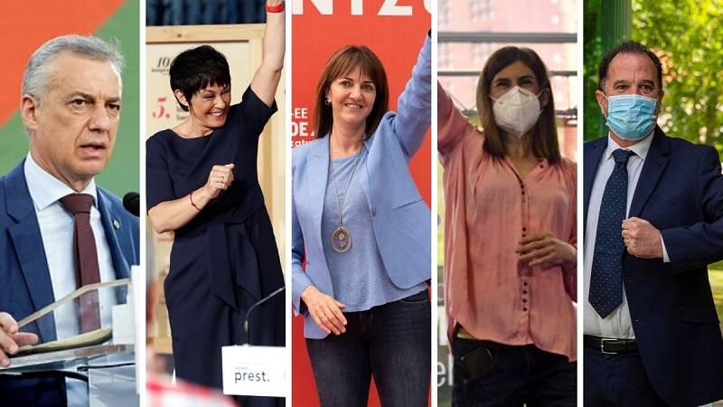 """Urkullu se erige como la """"opción segura"""" frente al resto de partidos que piden el voto en favor de un nuevo Euskadi"""
