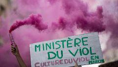 Protestas feministas en Francia contra el nombramiento de un ministro acusado de violación