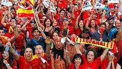 Así recuerdan los aficionados cómo celebraron el Mundial