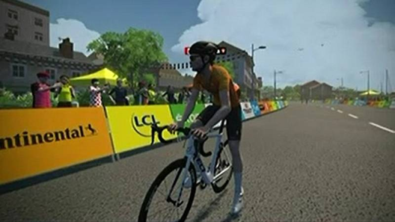 Matteo Dal-Cin gana la tercera etapa del Tour virtual