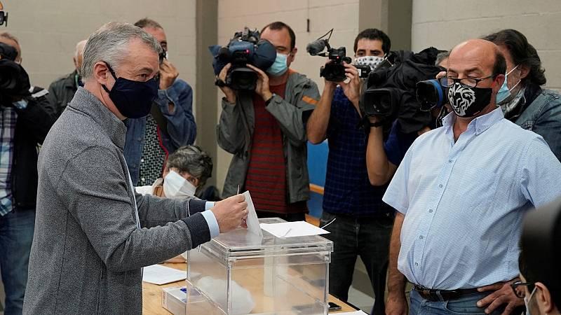 """Urkullu anima a la participación: """"Hay seguridad para poder votar"""""""