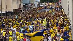 Locura en Cádiz para celebrar un ascenso que no llegó