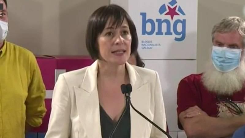 """Ana Pontón (BNG): """"Queremos ser una alternativa al PP y poner en marcha un cambio en gallego"""""""