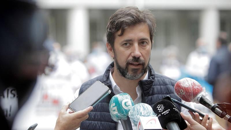 """Antón Gómez-Reino (Galicia en Común): """"Son unos resultados inesperados y muy malos"""""""
