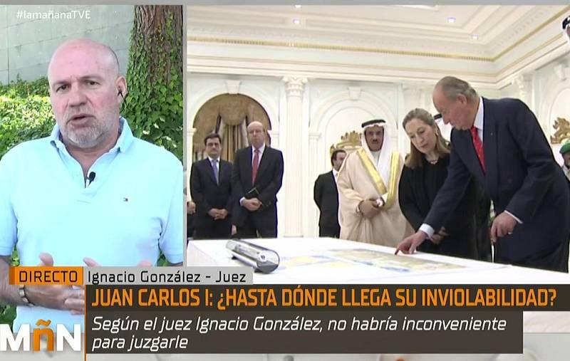 """Ignacio González, de Jueces para la Democracia, dice que """"no es el momento"""" de iniciar una reforma constitucional"""
