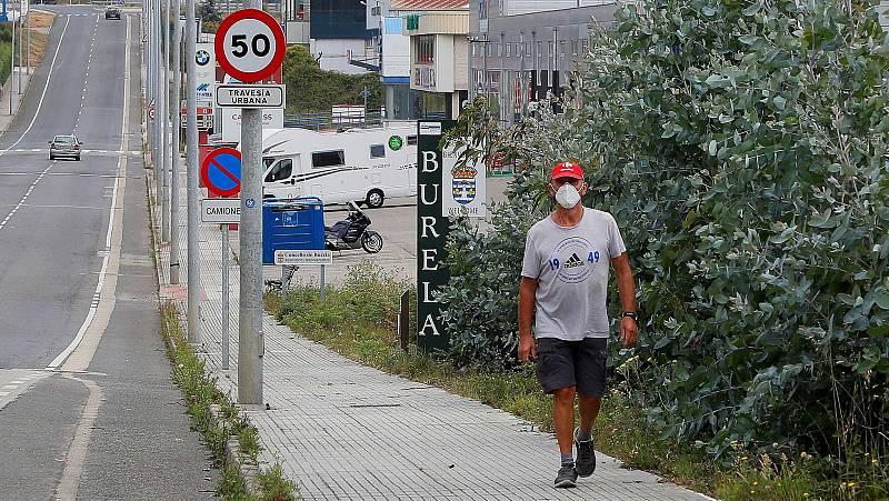 El brote de A Mariña (Lugo) acumula 184 casos activos, la mayoría en Burela