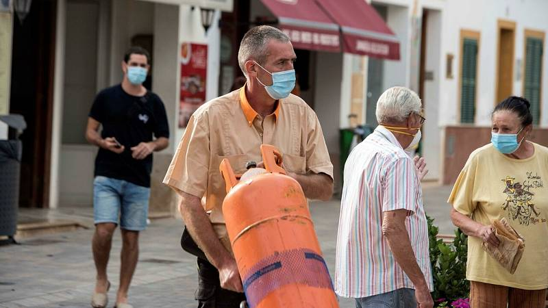 Mascarilla obligatoria aun con distancia de seguridad: Baleares, Murcia y Aragón se suman a la medida