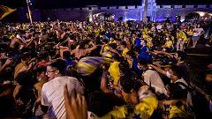 """Simón sobre las aglomeraciones en Cádiz de este domingo: """"No es necesario juntarse 5.000 personas para celebrar un ascenso"""""""
