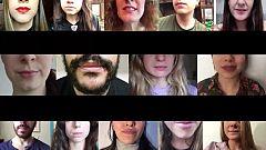 Video de ánimo para los afectados por el coronavirus (Blanca Roldán)