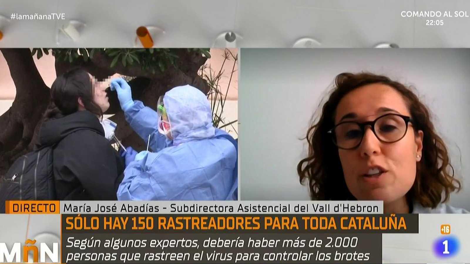 María José Abadías, hoy en La Mañana, nos cuenta más sobre los rastreadores