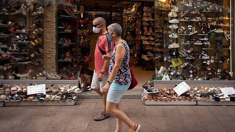 Preocupación entre comerciantes y hosteleros por el nuevo confinamiento en Cataluña
