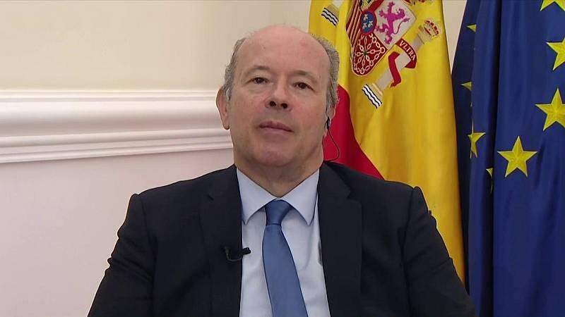 Los desayunos de TVE - Juan Carlos Campos, ministro de Justicia - ver ahora