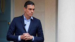 """Sánchez dice que habló con Torra hace dos días y valora """"la rápida respuesta"""" autonómica al coronavirus"""