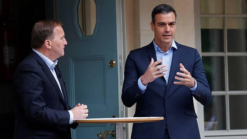 Sánchez no logra convencer al sueco Löfven sobre el fondo europeo