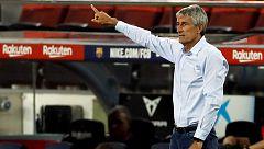 """Setién: """"Naturalmente que me veo entrenando al Barça la temporada que viene"""""""
