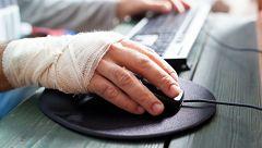 Los accidentes laborales aumentan en el primer semestre con respecto a 2019