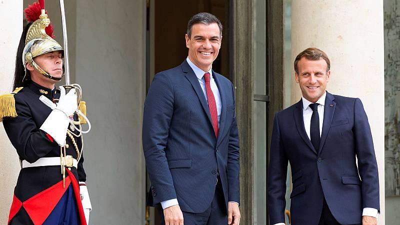 Sánchez y Macron defienden las subvenciones en el fondo europeo poscoronavirus