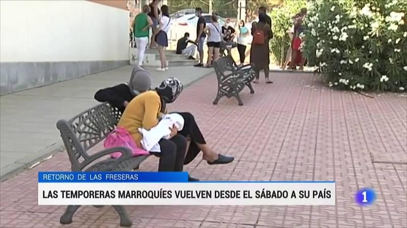 Las temporeras de Huelva podrán volver a Marruecos tras semanas de espera