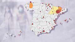 Aragón, la comunidad con más contagios en los brotes