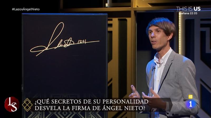 Analizamos la firma de Ángel Nieto