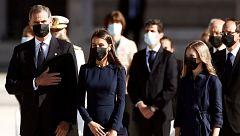Así ha sido el homenaje de Estado a las víctimas del coronavirus