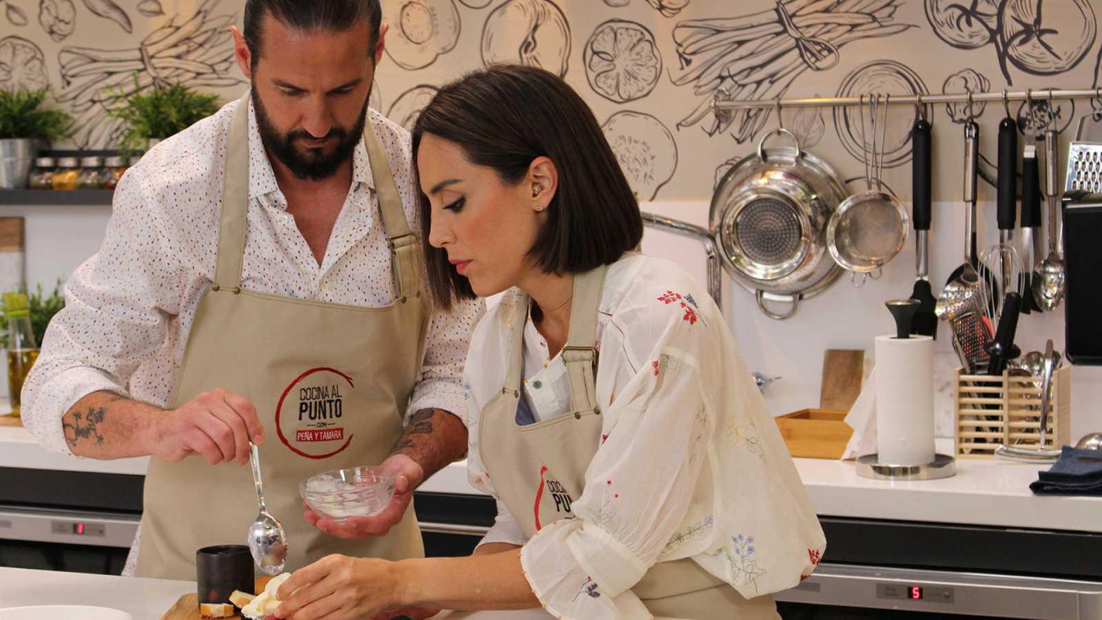 Cocina al punto con Peña y Tamara - La gamba blanca y la chirla de Punta Umbría - ver ahora