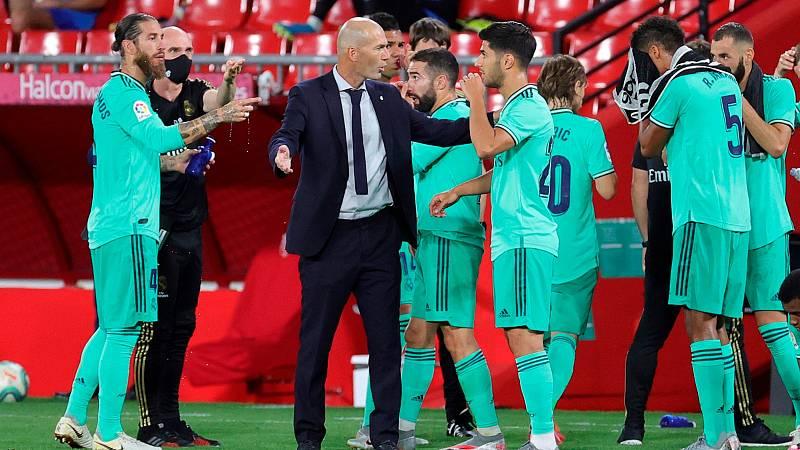 El Madrid, a por su trigésimo cuarta liga, sin celebración tradicional