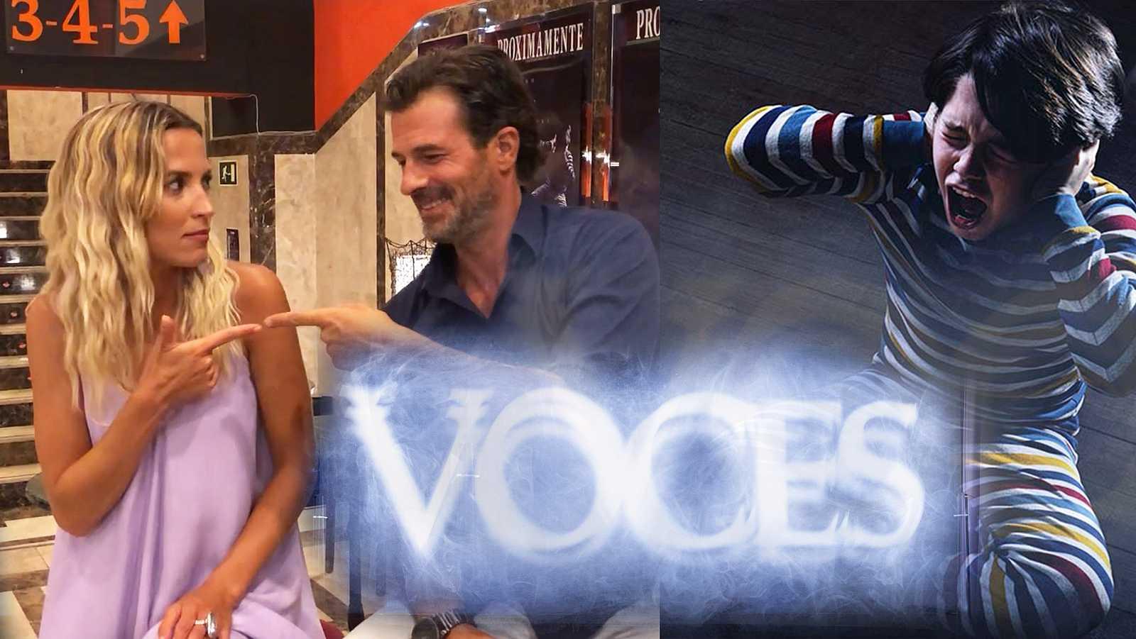 Tag del terror con Rodolfo Sancho y Ana Fernández (Voces)