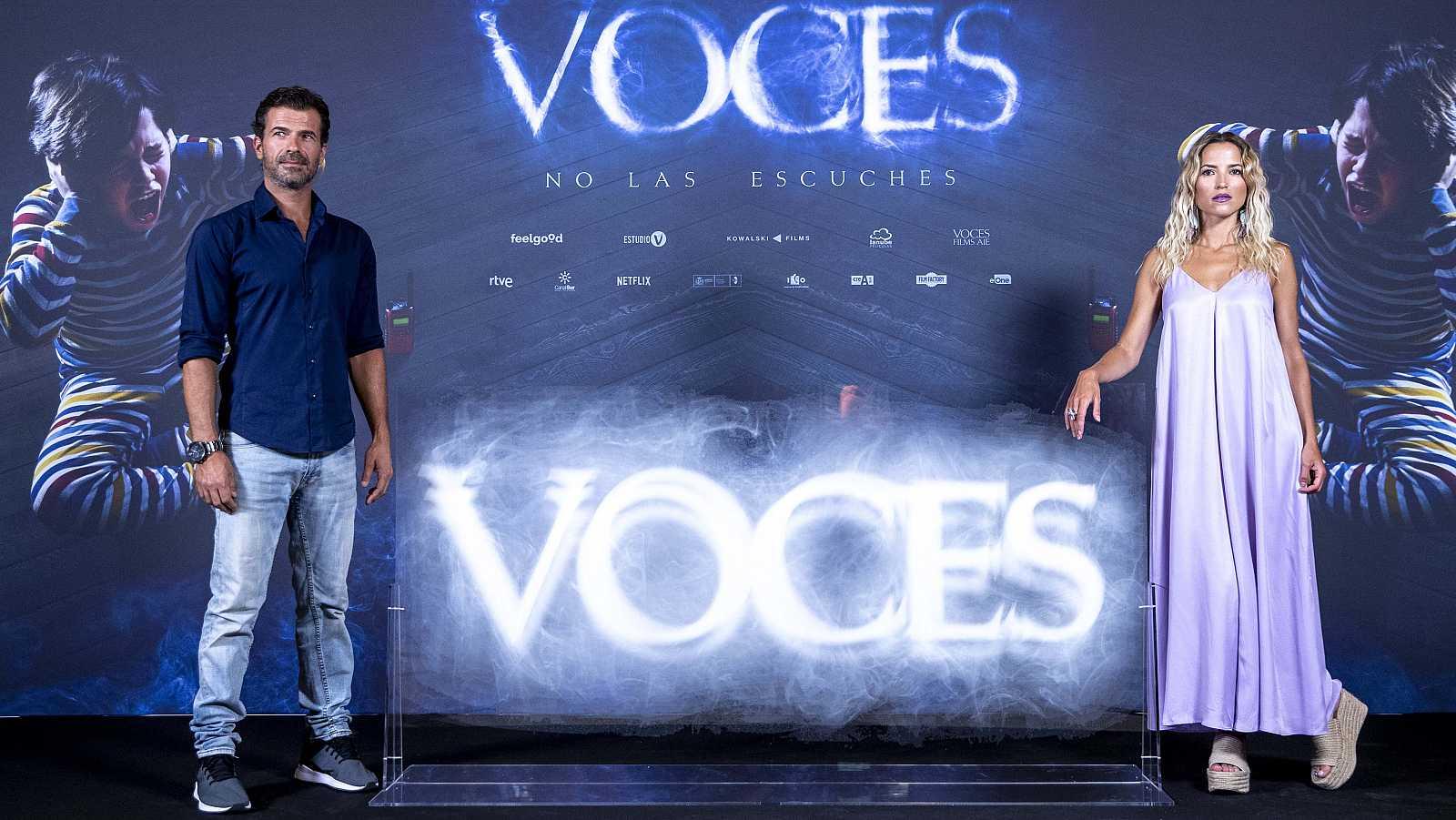 Rodolfo Sancho y Ana Fenández hablan de la película 'Voces'