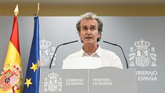 Especial informativo - Coronavirus. Comparecencia de Fernando Simón - 16/07/20