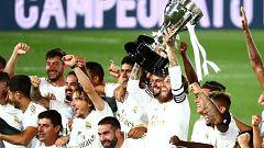 El Madrid levanta su 34ª Liga