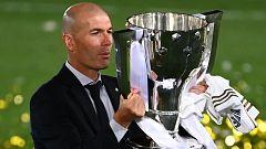 """Zidane: """"Es una emoción tremenda. Es muy difícil ganar la Liga"""""""