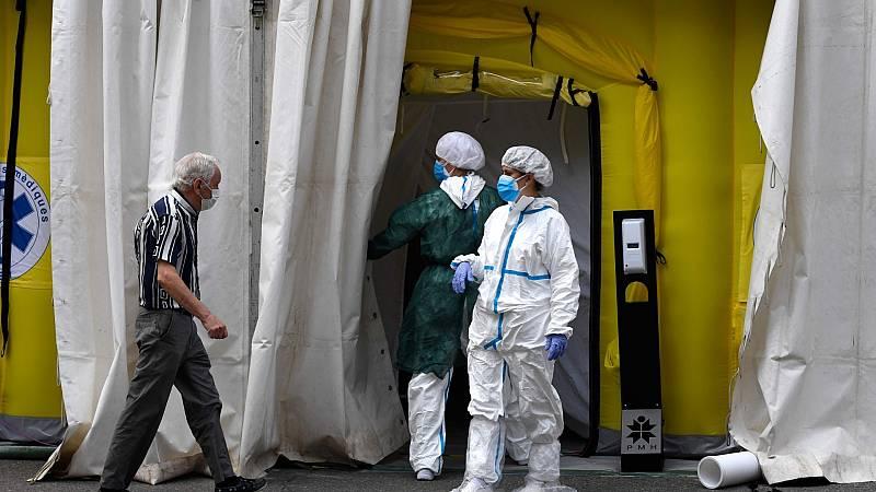 Cataluña registra uno de cada cuatro nuevos casos de coronavirus