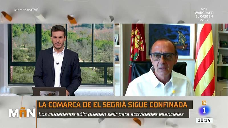 """Miquel Pueyo, alcalde de Lleida: """"En este segundo confinamiento el ánimo de los ciudadanos está mucho más dolido"""""""