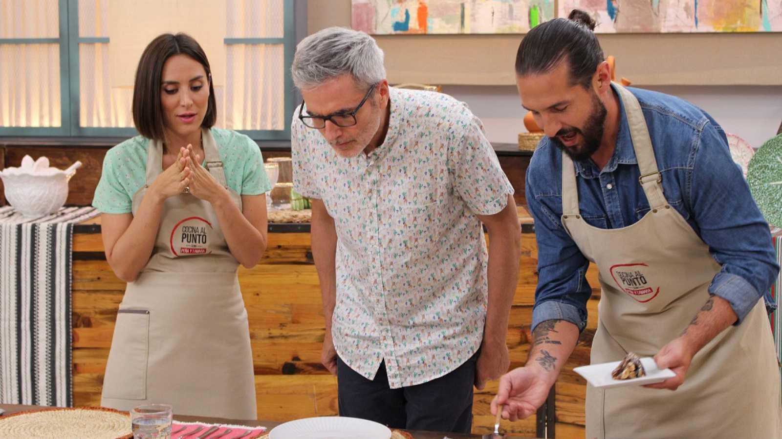 Mikel Iturriaga visita 'Cocina al Punto'